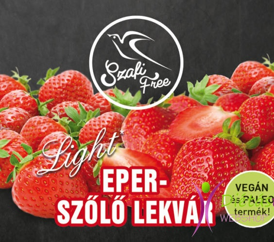 Szafi Free Jam, Strawberry-grapes 350gr