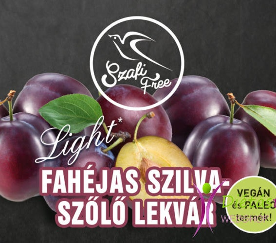 Szafi Free Jam, Cinnamon Plum with Grapes 350gr