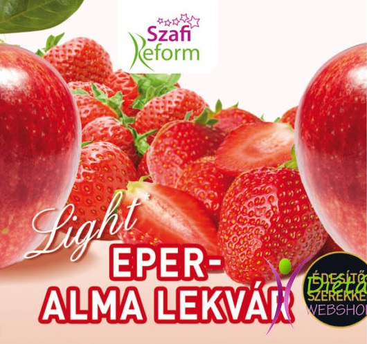 Szafi Reform Jam, Strawberry with Apple 350gr