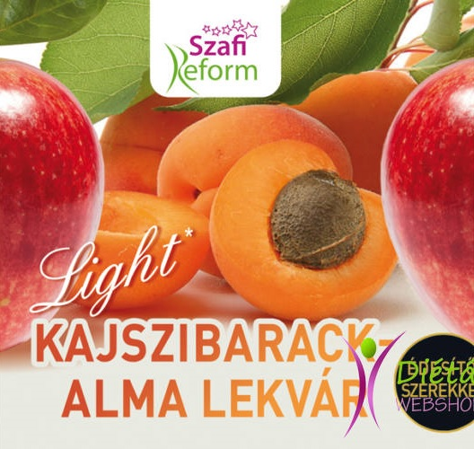 Szafi Reform Jam, Apricot with Apple 350gr