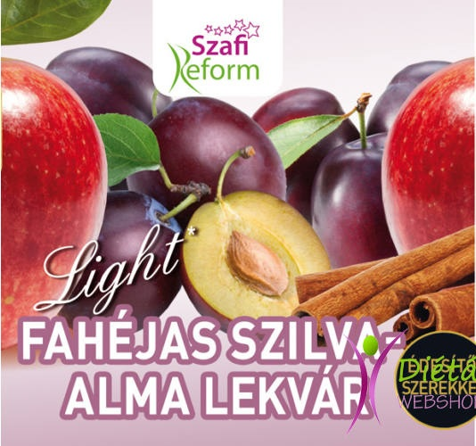 Szafi Reform Jam, Cinnamon Plum with Apple 350gr